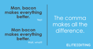 bacon comma