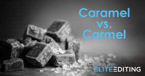 Caramel vs Carmel