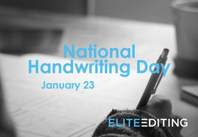 National Handwriting Day