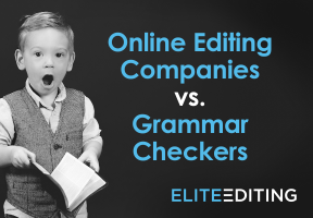 online editing companies vs. grammar checkers