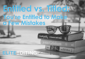 entitled vs. titled